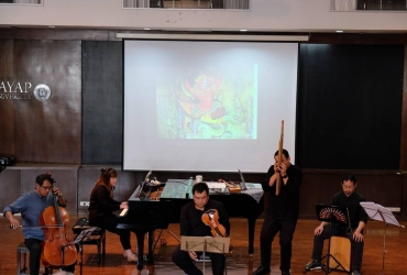 Combining Traditional Thai and Western Instruments in Contemporary Thai Music Lecture